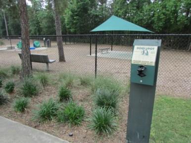 Dog Waster Dispenser and Covered Pavilion