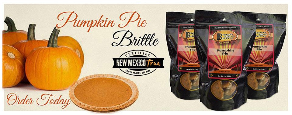 Pumpkin Pie Brittle made in Albuquerque, NM