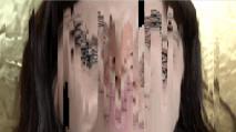 close up glitch
