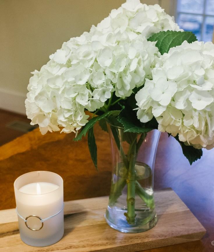 Grocery Store Flowers Vase