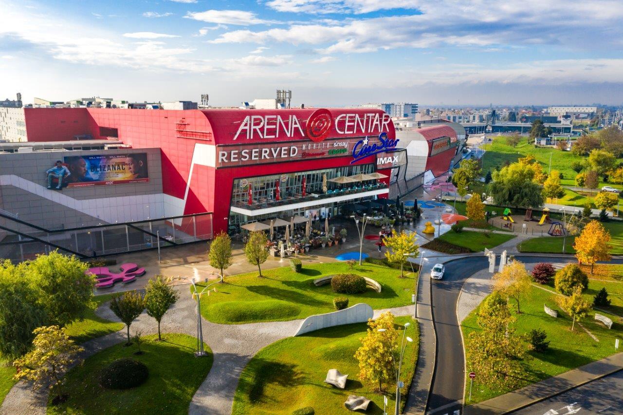Arena Centar ponosno nosi Superbrands znak!