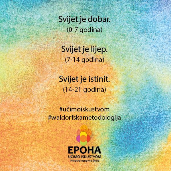 EPOHA otvorila i osnovnu školu s državnim programom inspiriranu Waldorfom