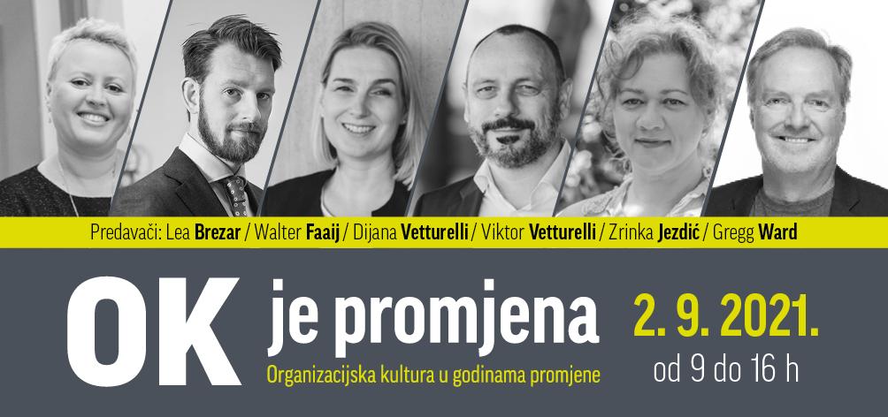 Trend stvaranja organizacijske kulture promjene stiže i u Hrvatsku