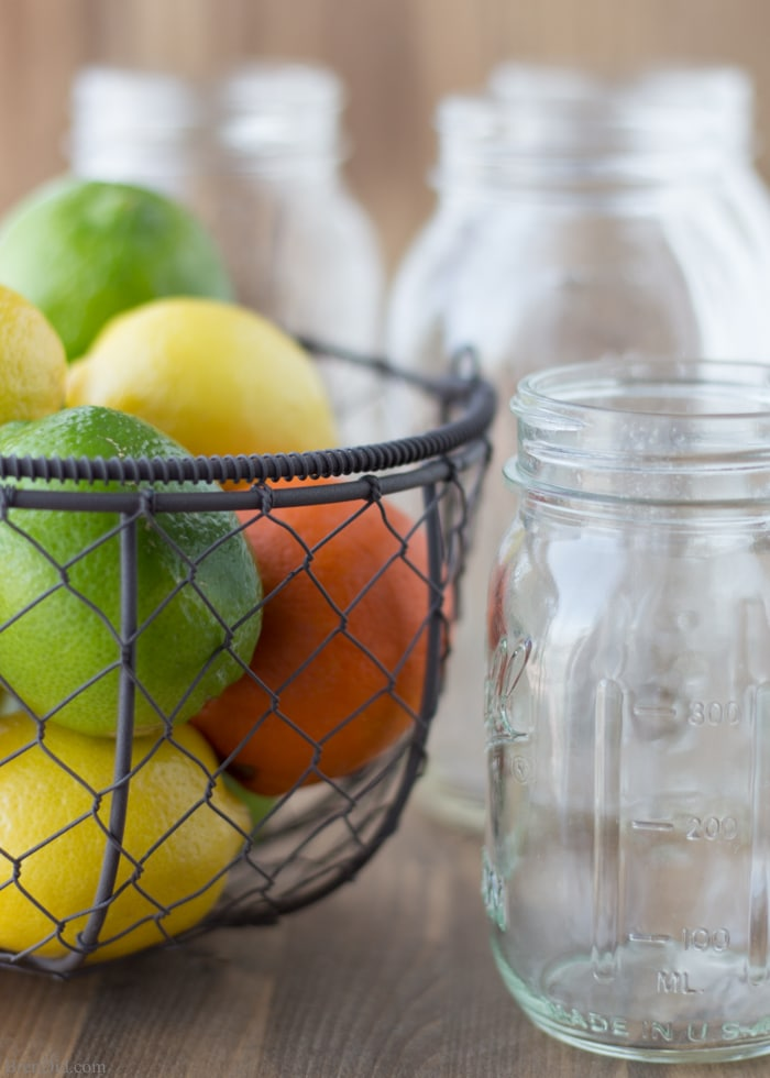 How to Make Scented Vinegar for Cleaning. This DIY cleaner is easy to make and non-toxic. It cuts through grease with ease. Orange vinegar for cleaning combines the cleaning power of vinegar and orange oil. All-natural, non-toxic cleaning.