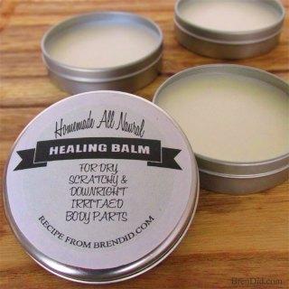 How to Make Healing Dry Skin Balm