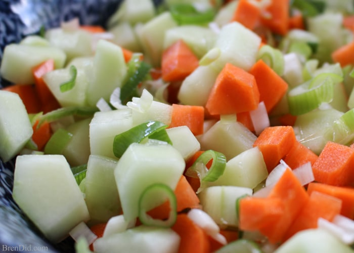 Combine traditional American cucumber salad with Asian rice vinegar and you have the most delicious Easy Asian Cucumber Salad recipe. It works as an accent relish to grilled flank steak or tilapia, it is equally satisfying as a side dish, and is always a hit at a summer picnic.