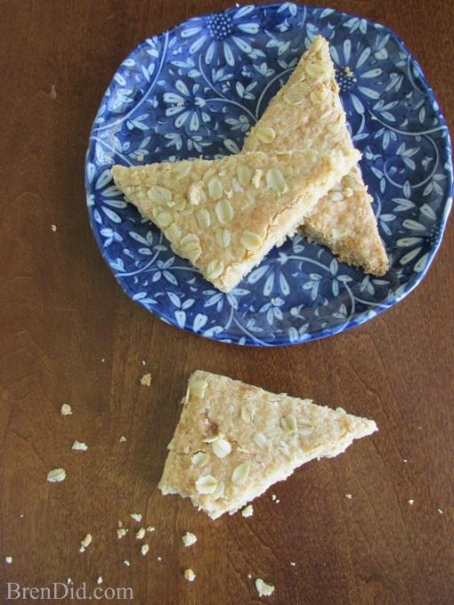 BrenDid Toasted Oatmeal Shortbread