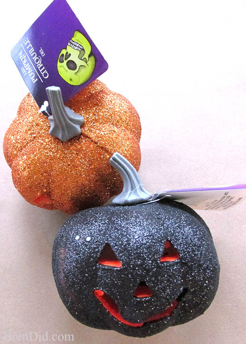 PB Inspired Light Up Glitter Pumpkin