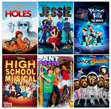 Netflix Disney Favorites Family Fun Niight