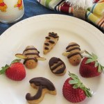 Winnie the Pooh Party & Healthy Honey Bee No Bake Cookies