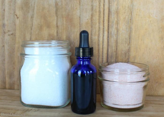 How to make Magnesium Rose Natural Detox Bath Salts