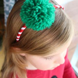 Learn How to Make a Pom Pom Headband