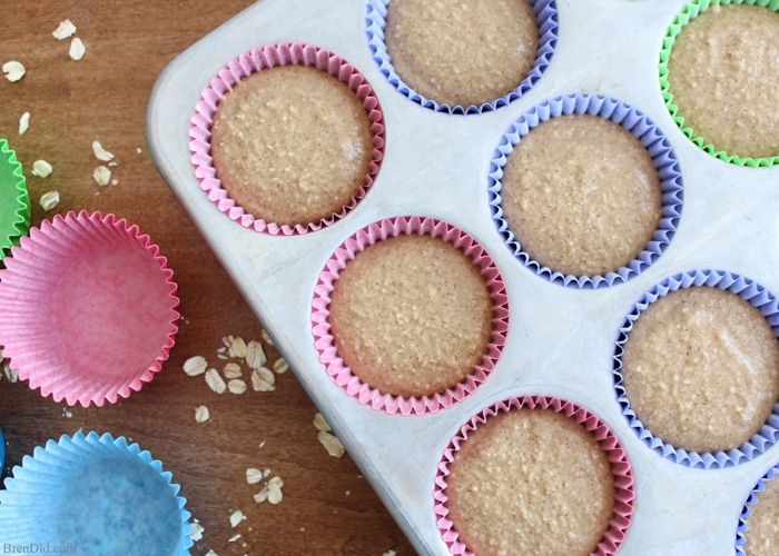 Looking for a healthy muffins recipe? This easy Apple Cinnamon Muffin recipe contains no sugar, is flour free, and has no butter or oil. It is sweetened with dates and tastes amazing! Your family will enjoy the muffins and you will enjoy serving a healthy breakfast or delicious treat.