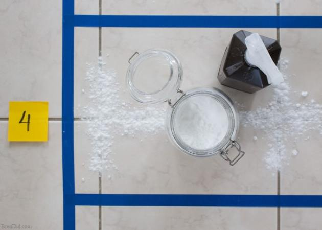 The Ultimate Guide to Cleaning Grout  10 DIY Tile   Grout Cleaners     Baking soda hydrogen peroxide grout cleaner