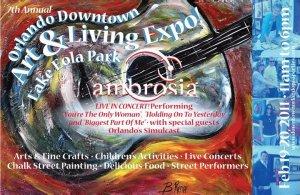 Orlando Art Expo Poster Artist
