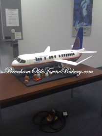 continental airplane cake