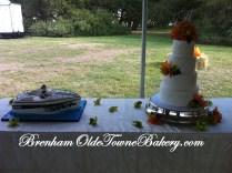Diamond & Boat Cakes