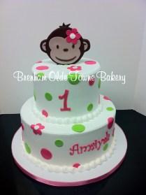 monkey polka dots