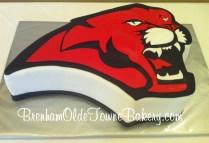 U of H Cougar grooms cake