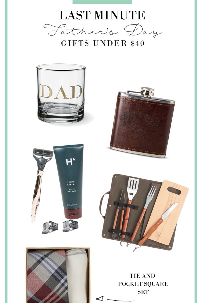 Last Minute Father's Day Gifts for Under $40
