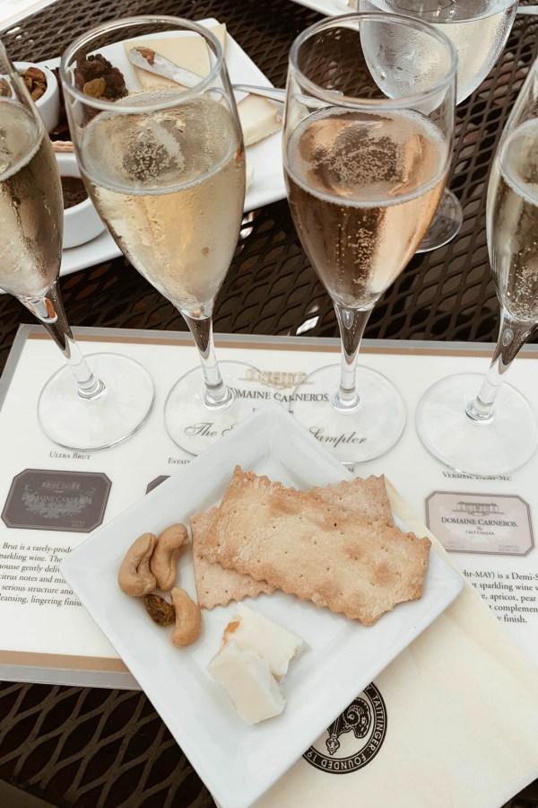 Domaine Carneros Napa Winery - Chanfetti Blog by Brenna Anastasia