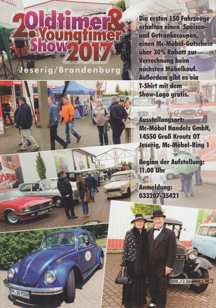 2. Oldtimer- & Youngtimer-Show in Jeserig – 1. Brennaborverein ...