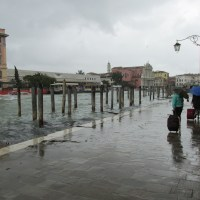 Venice in the Rain. the TERRIBLE, COLD rain.
