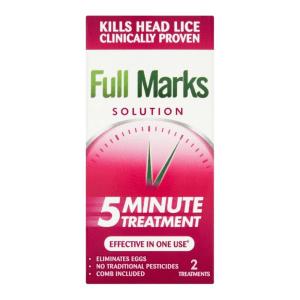Full Marks Head Lice Solution - 5 Minute Treatment | Brennans Pharmacy