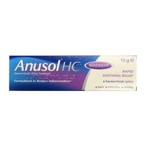 Anusol HC Ointment 15g | Brennans Pharmacy