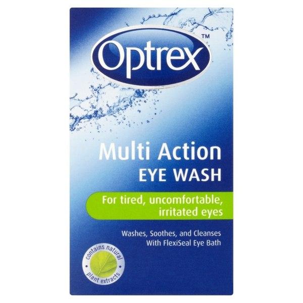 OPTREX MULTI ACTION EYE WASH 100ML