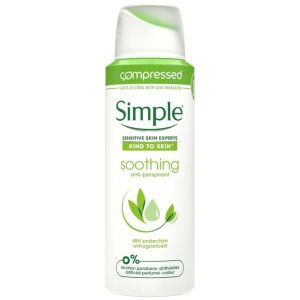 SIMPLE SOOTHING ANTI-PERSPIRANT