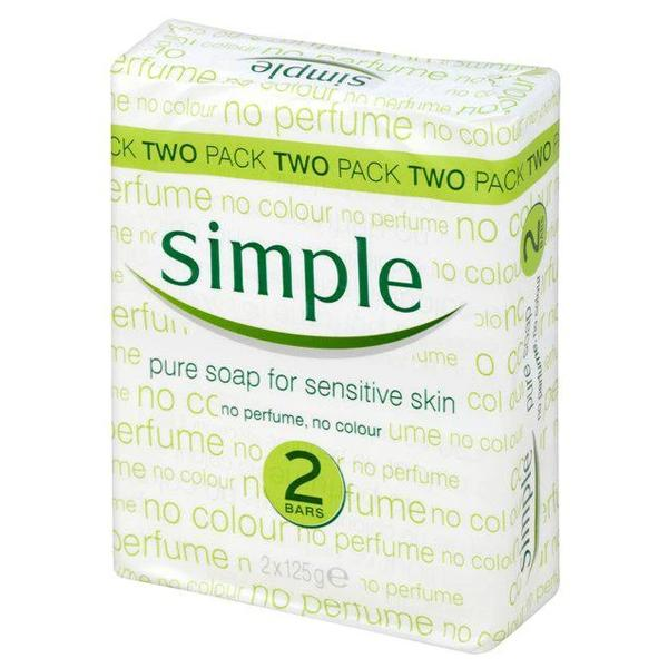 SIMPLE SOAP TWIN PACK 2X125G