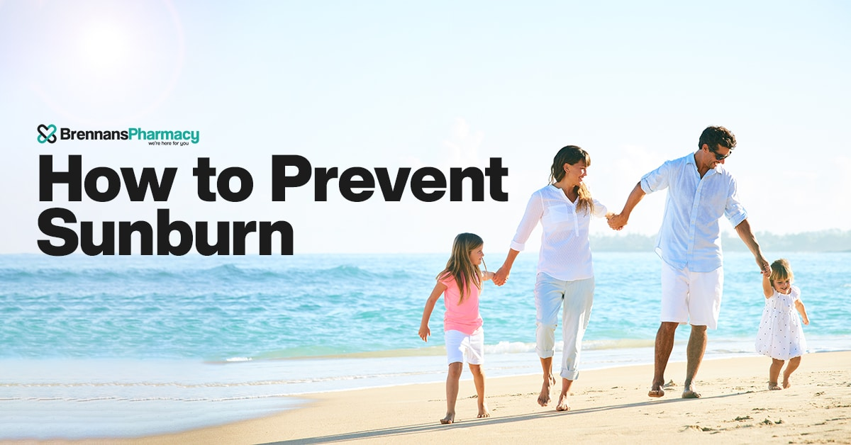 how to prevent sunburn | irish pharmacy