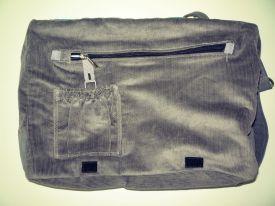 selbstgenähte Handtasche wechselcoverfähig Vorderansicht