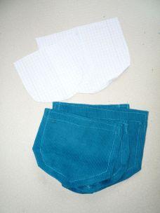 Cordhose selbstgenäht Taschen