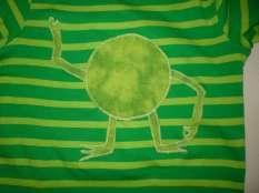 Monster-Shirt Monster-Form noch ohne Gesicht