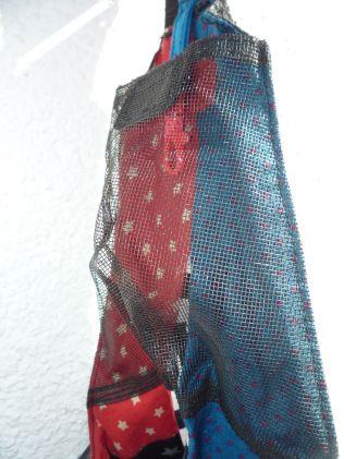 Brennender Schuh - Netz-Außenfach Trägerbeginn Handtasche