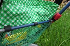 Befestigung Dreirad-Tasche, Mesh, Netzstoff, Spielplatztasche