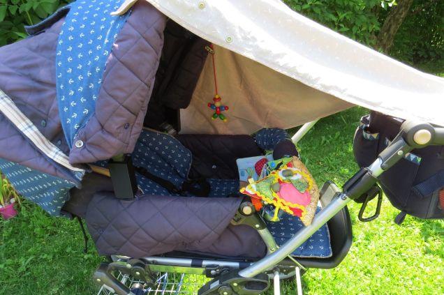 Sonnensegel Kinderwagen Rundum-Schutz Buggy