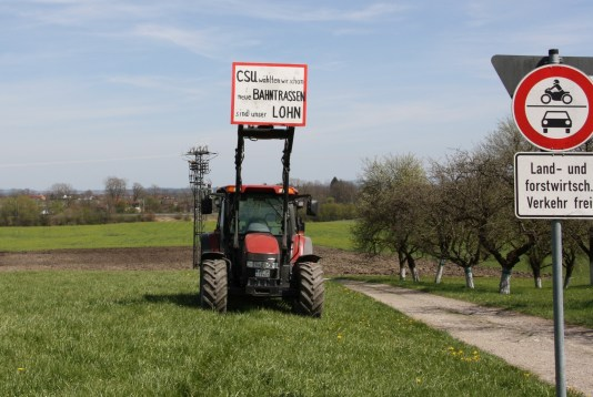 Viele Landwirte in Großkarolinenfeld werden durch den Brenner-Nordzulauf ihre Existenz verlieren. Quelle: Brennerdialog