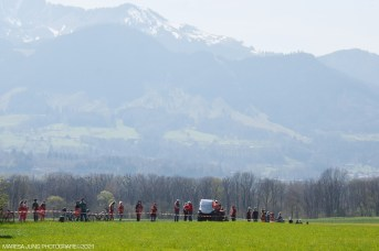 Protest im Inntal gegen den Brenner-Nordzulauf. Quelle: Maresa Jung
