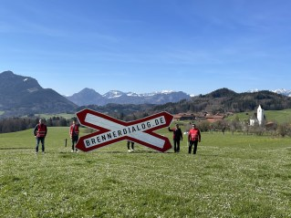 Der Brennerdialog setzt ein Zeichen in Stephanskirchen. Quelle: Brennerdialog