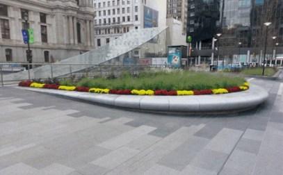 Beautiful plaza in Philadelphia