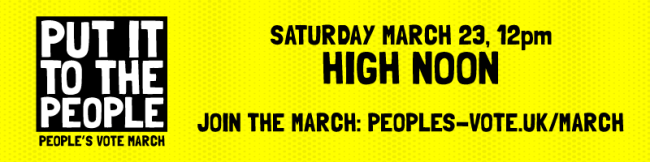 We are marching