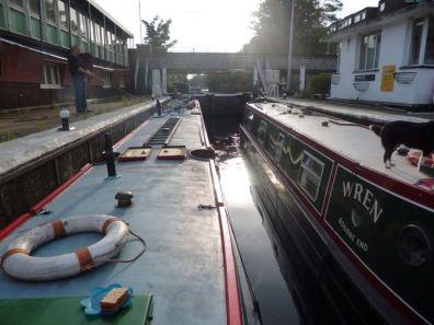 Brentford Dock Canal-Boat
