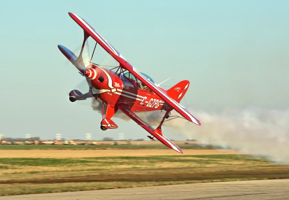Surface level aerobatics!