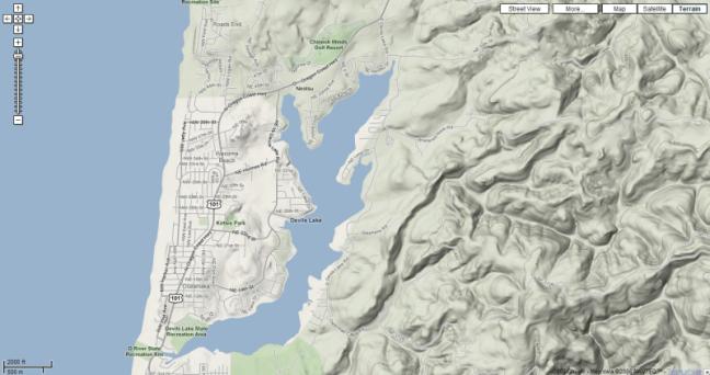 Devils Lake Map