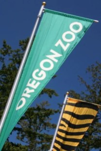 Oregon Zoo flag