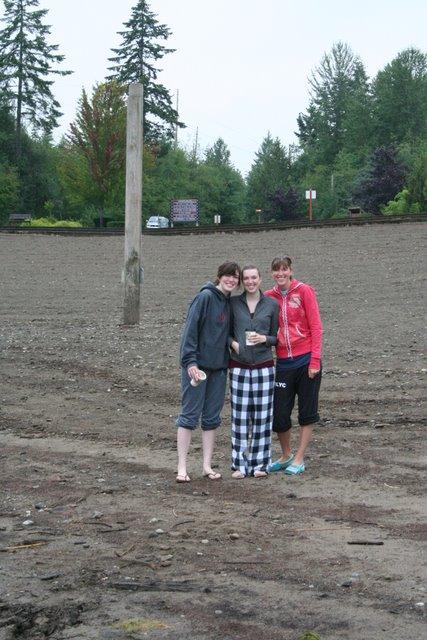 Heather, Melissa, and Ashley