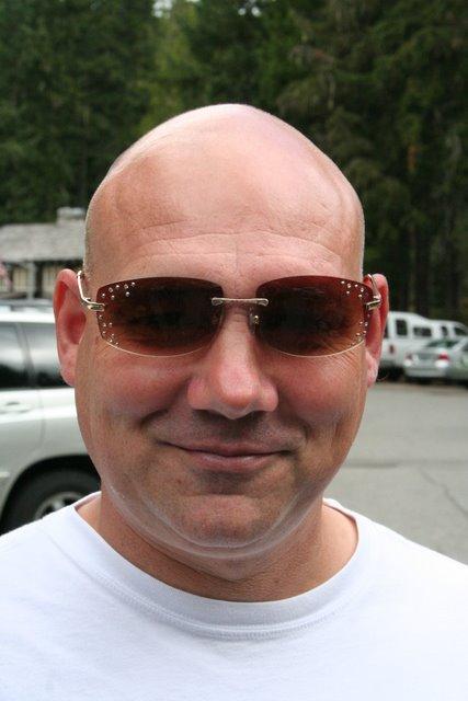 Troy Rocking Kristi's Sunglasses